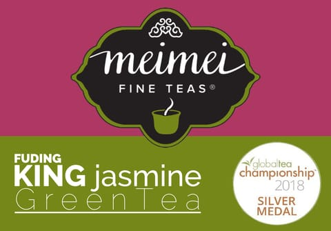 jasmine green tea silver medal tea competition