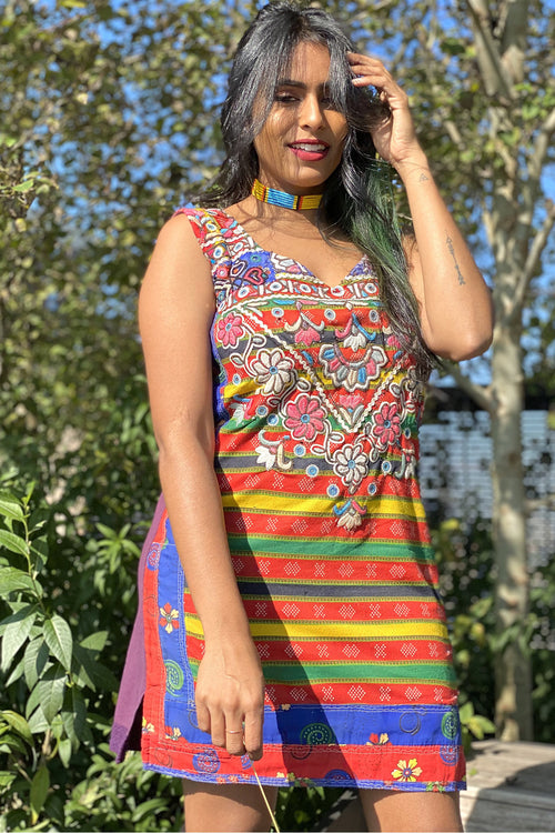 Vintage Banjara Textile Dress- The Alia