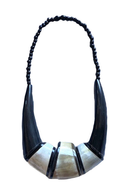 Ethically Sourced Ox Horn Jewelry- An Assortment Of Statement Necklaces