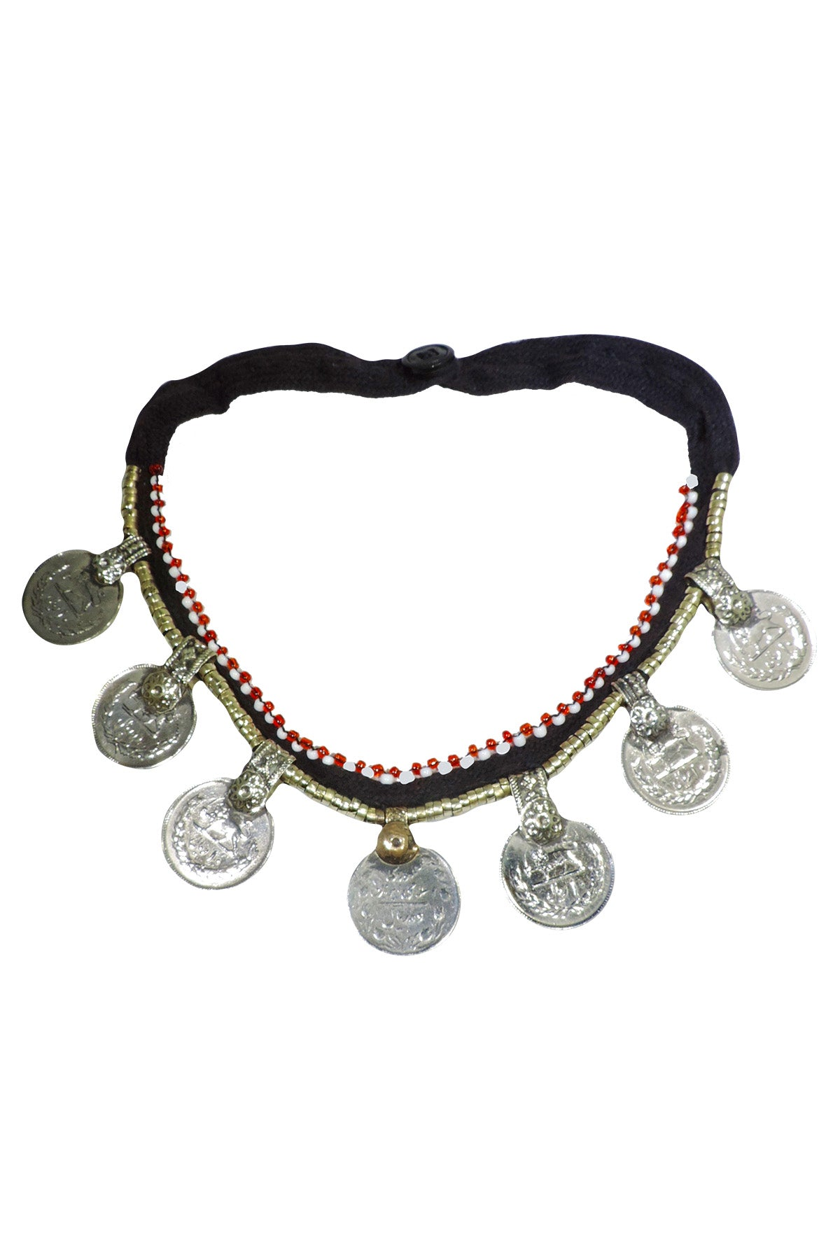 Tribal Small Coin Necklace