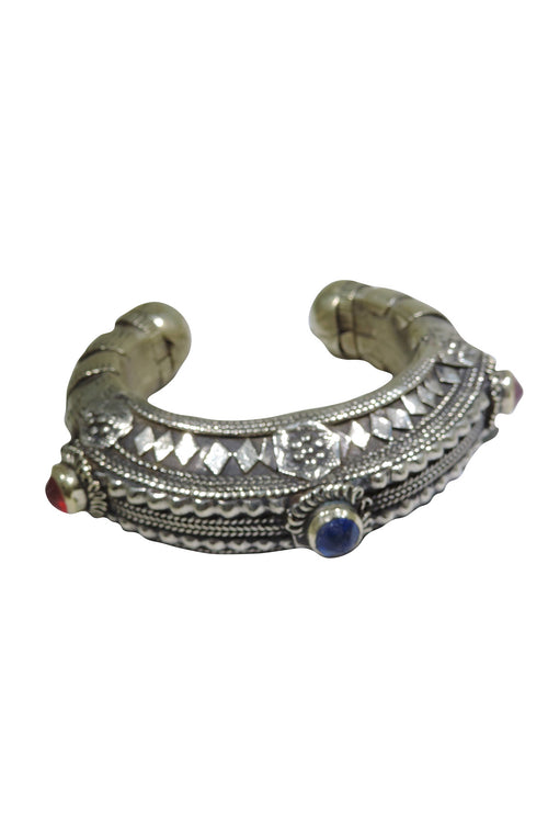 Vintage Afghan Tribal Cuff- The Frida