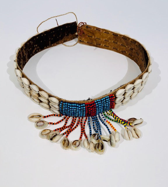 THE DIRE Beaded Cowrie Belt