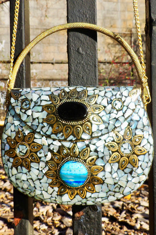 Sacred Heart Rouge -BoBo Designed Mosaic Bag