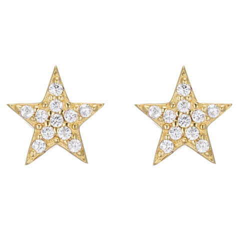 PETITE STAR STUDS - Sugar Bean Jewelry - 3
