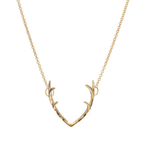 ANTLER NECKLACE - Sugar Bean Jewelry - 1