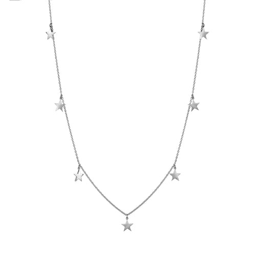 TINY STAR DELICATE CHARM NECKLACE