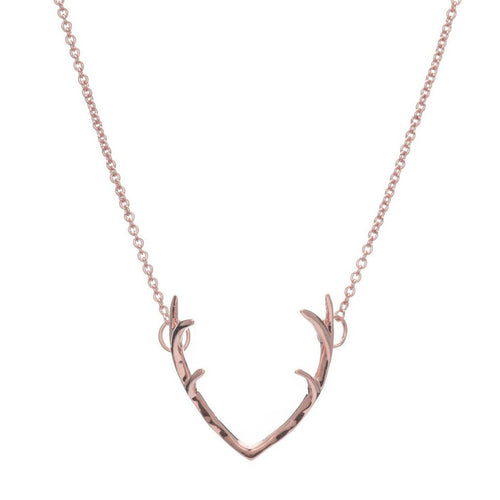 ANTLER NECKLACE - Sugar Bean Jewelry - 2