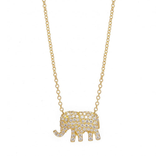 ELEPHANT NECKLACE - Sugar Bean Jewelry - 1