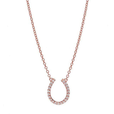 HOLE IN ONE DIAMOND NECKLACE