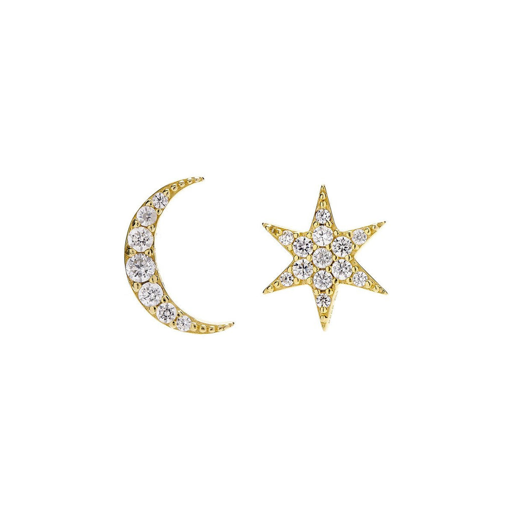 MISMATCHED EARRING STUDS