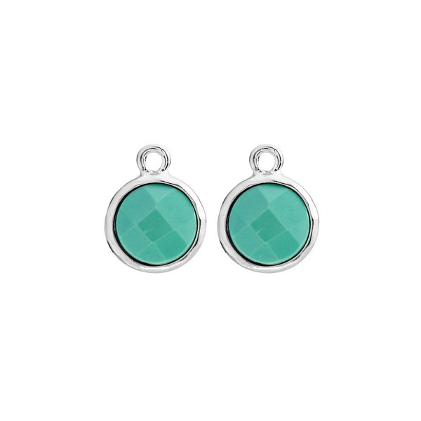 MEDIUM TURQUOISE EARRING CHARMS