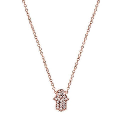 HAMSA NECKLACE - Sugar Bean Jewelry - 2