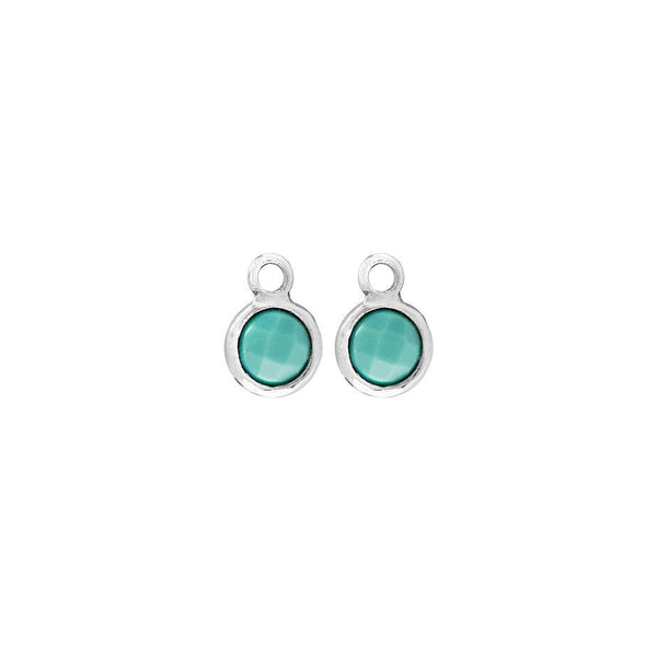 SMALL TURQUOISE EARRING CHARMS