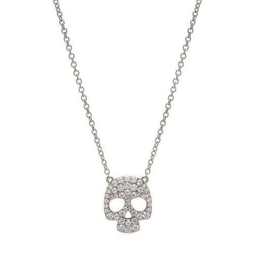 SKULL NECKLACE - Sugar Bean Jewelry - 1