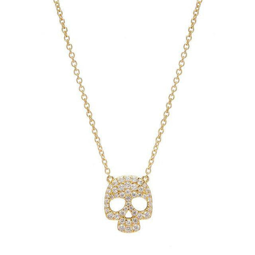 SKULL NECKLACE - Sugar Bean Jewelry - 2