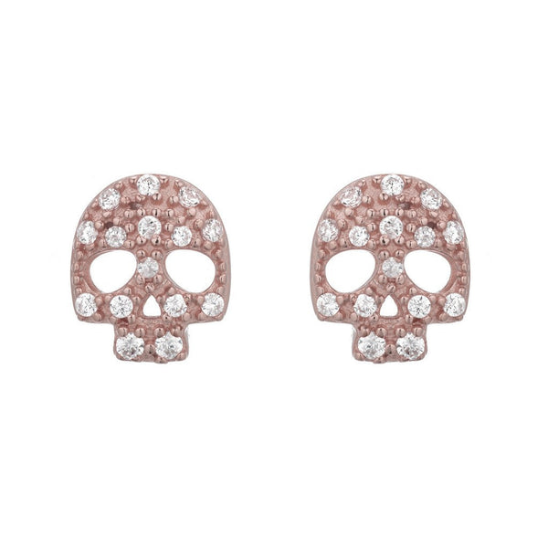 SKULL STUDS - Sugar Bean Jewelry - 1