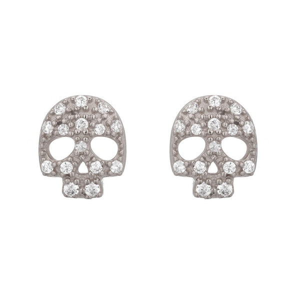 SKULL STUDS - Sugar Bean Jewelry - 2