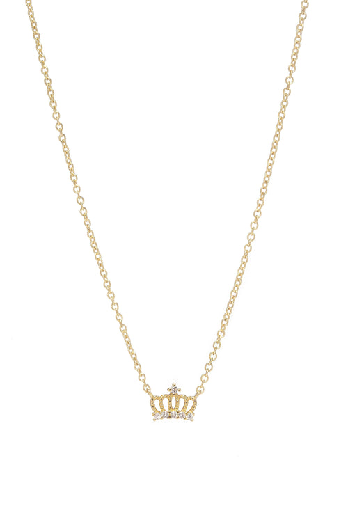 MINI CROWN NECKLACE