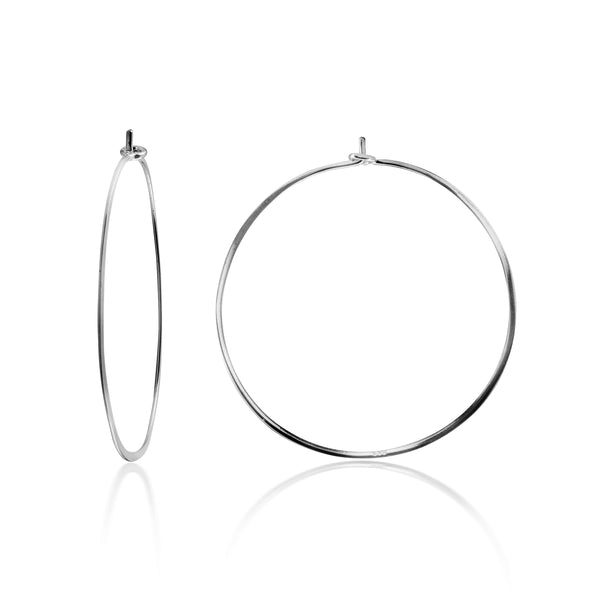 EARRING CHARM MEDIUM HOOPS