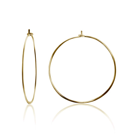 EARRING CHARM SMALL HOOPS