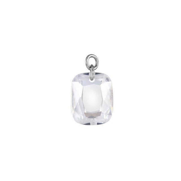 CRYSTAL DRILLED EARRING CHARM