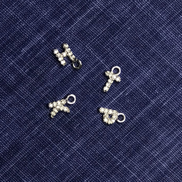 LOVERS CUSTOM EARRING CHARMS SILVER