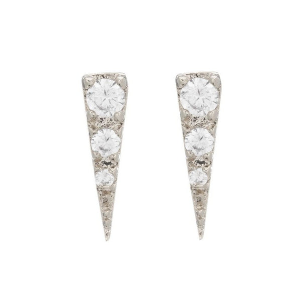 MINI SPIKE EARRING STUDS - Sugar Bean Jewelry - 3
