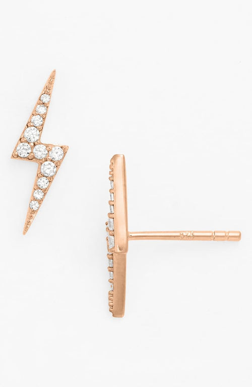 NORDSTROM LIGHTNING BOLT STUD EARRINGS