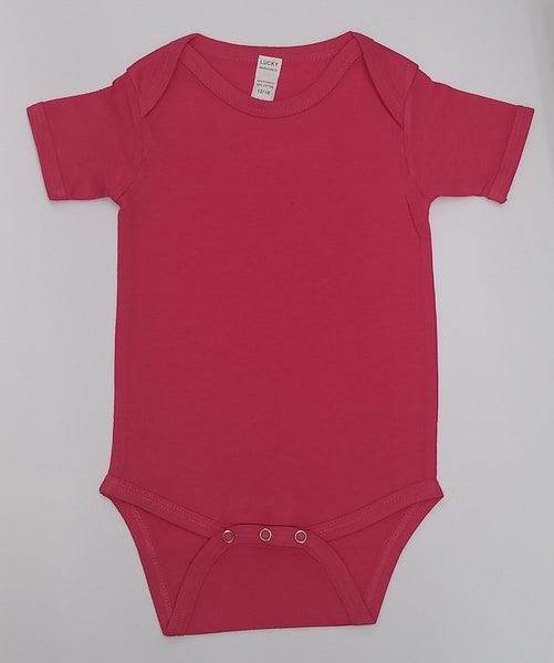 Lucky Wholesale-Pink Onesie