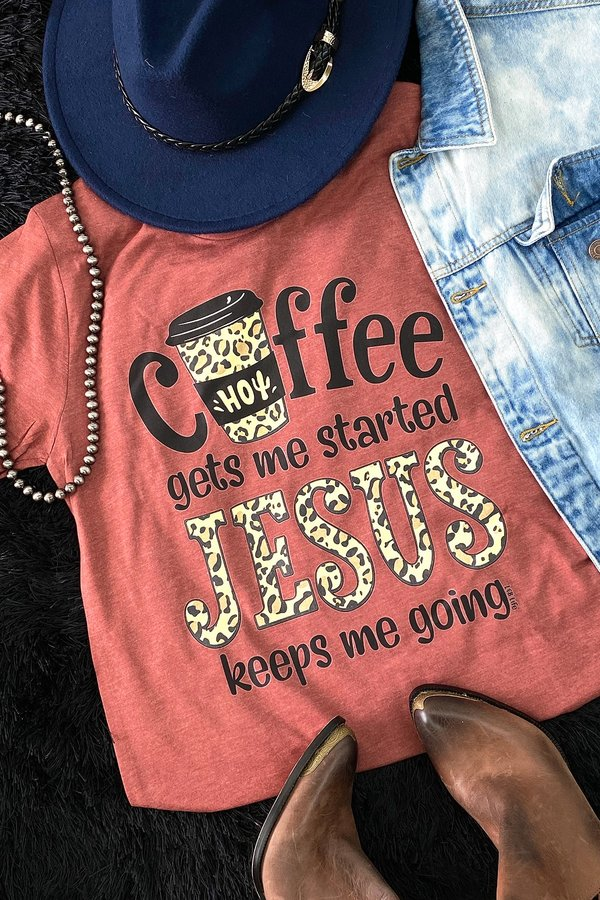 BC COFFEE JESUS - RUST