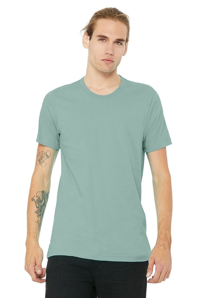 Bella Canvas Tees - Heather Dusty Blue