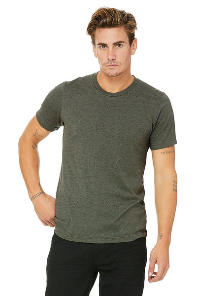 Bella Canvas Tees - Heather Military Green
