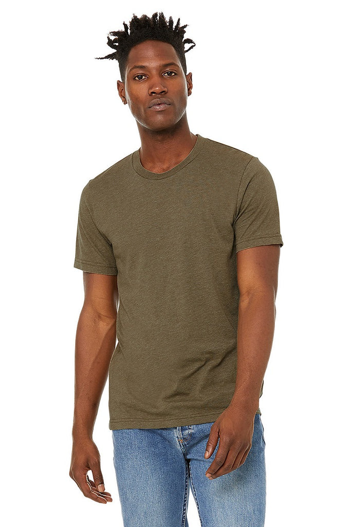 Bella Canvas Tees - Heather Olive