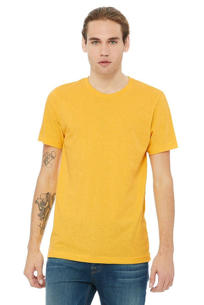 Bella Canvas Tees - Heather Yellow Gold
