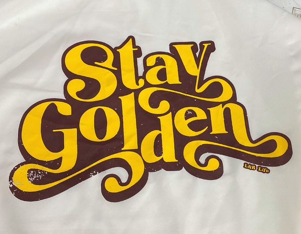 STAY GOLDEN pre-order 4/9/21