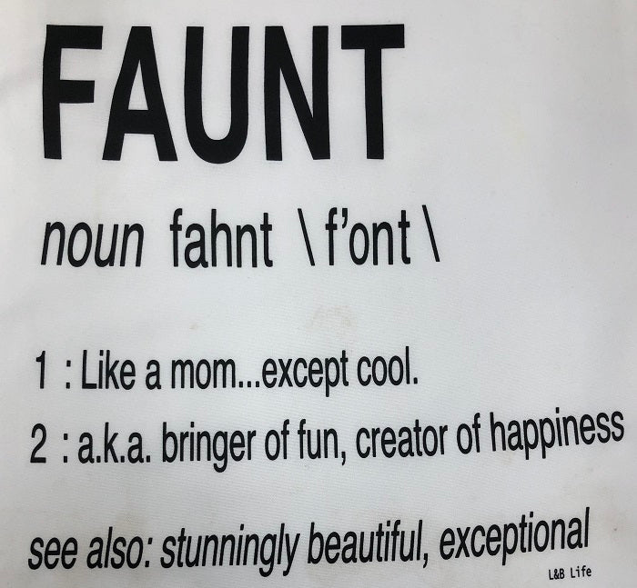 Faunt Definition