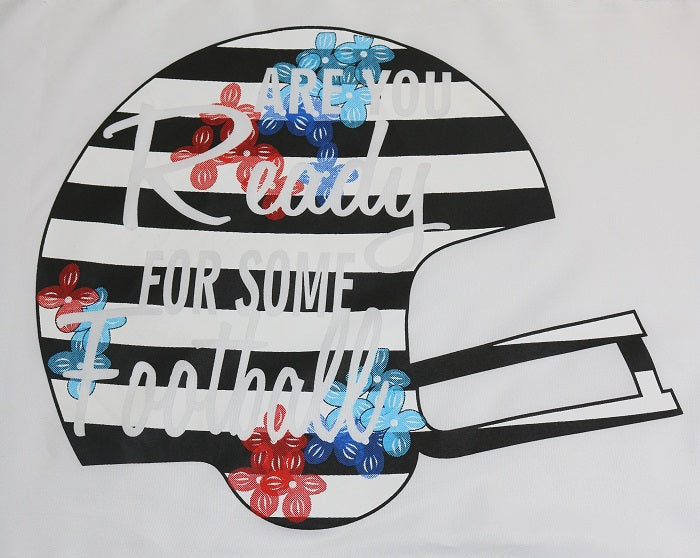 LW#3371 STRIPES ARE YOU READY HELMET