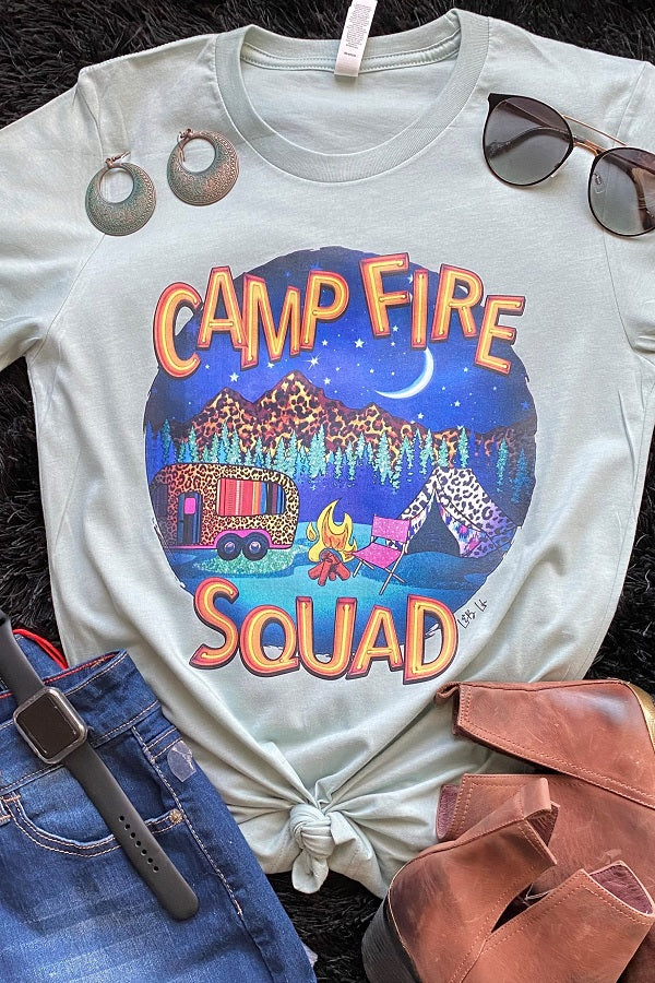 Bc Camp Fire - Dusty Blue ( pre order 10-09-2020 )