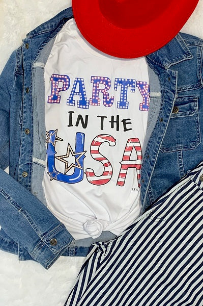 Bc Party In the USA - White