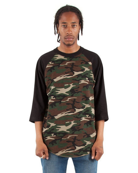 Shaka - Camo Green And Black