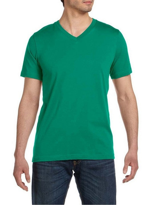 CH Kelly Green V neck