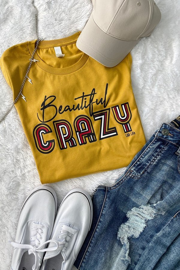 BC BEAUTIFUL CRAZY - MUSTARD ( PRE-ORDER 02/08/21