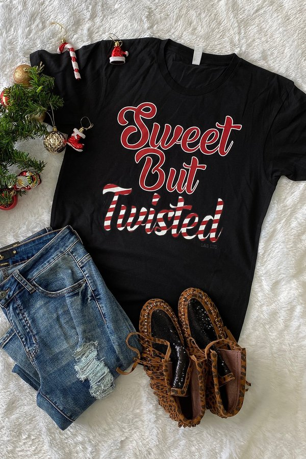 BC TWISTED BUT SWEET- BLACK  PRE-ORDER (11-27-20)