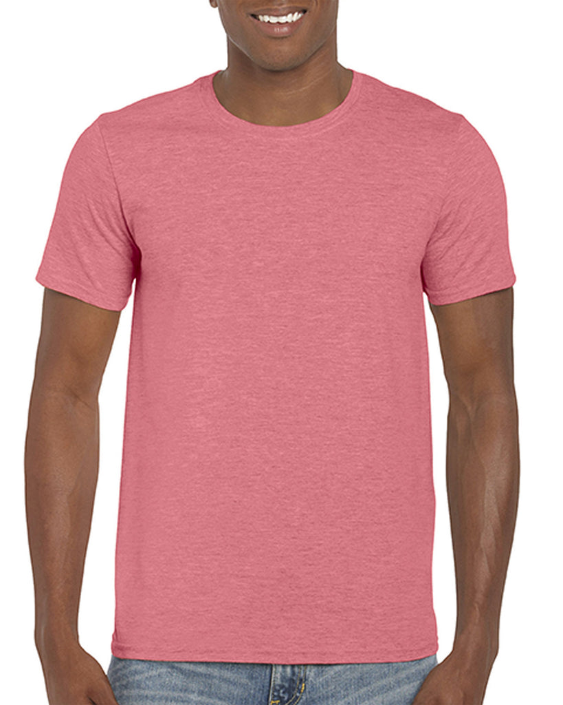 Gildan Softstyle - Heather Coral Silk