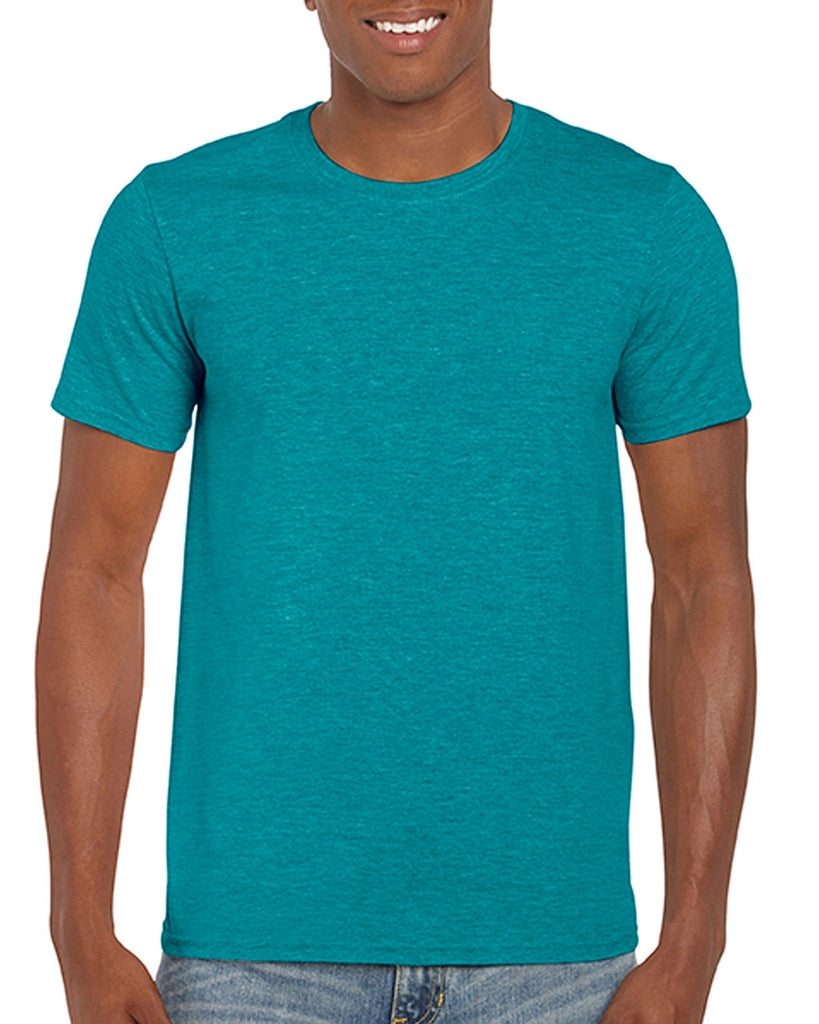 Gildan Softstyle - Heather Galapagos Blue