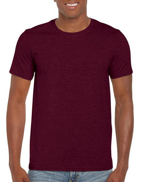 Gildan Softstyle - Heather Maroon