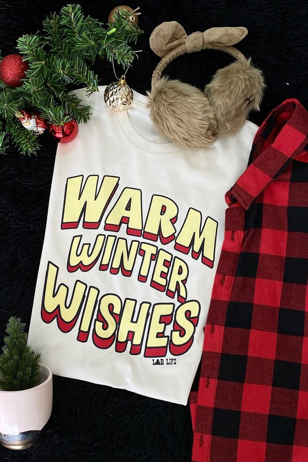 BC WARM WINTER WISHES  - CREAM