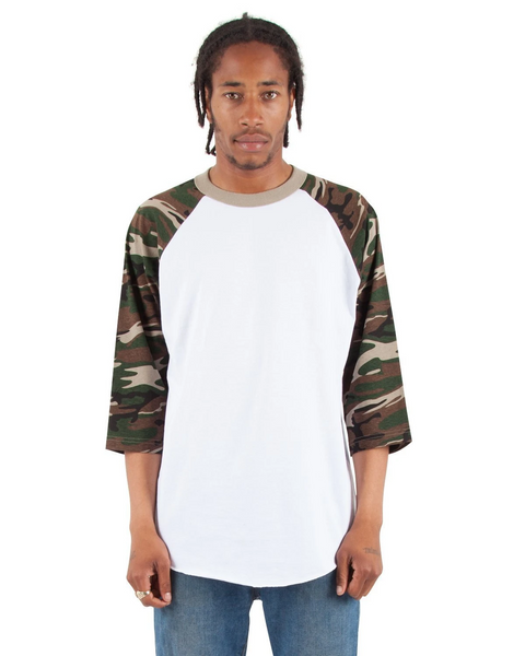 Shaka - White and Camo Green