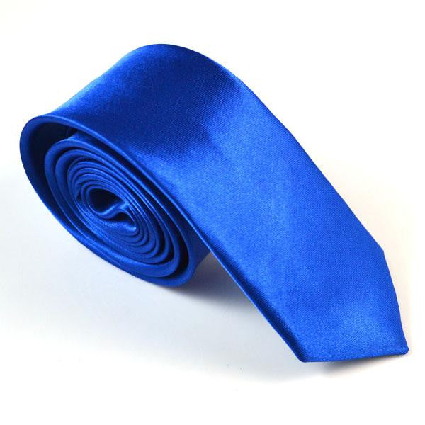 Mens Solid Skinny Ties Necktie 2 Inch Solid Color Slim Wedding Neck Ties