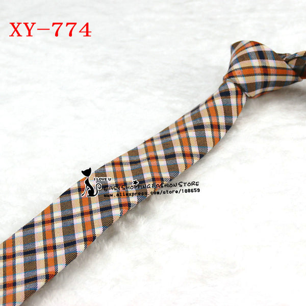 High quality men cotton and fabric linen cloth tie 6cm skinny floral 2015 luxury